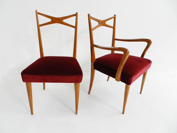 Elegant pair of chairs