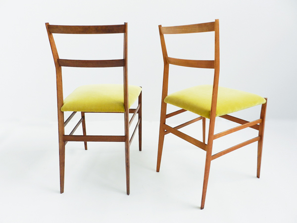 Pair of chairs mod. Superleggera