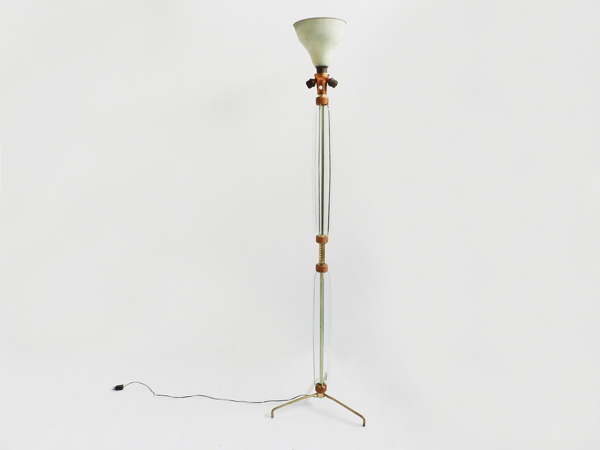 Adjustable floor lamp mod. Bluebell