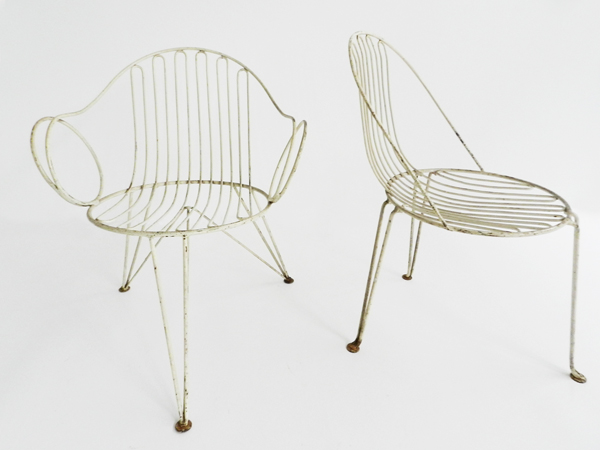 Set of 4 iconic garden chairs