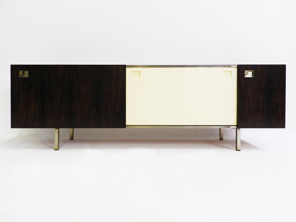 Elegant italian rosewood sideboard