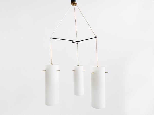 Three tubes hanging lamp