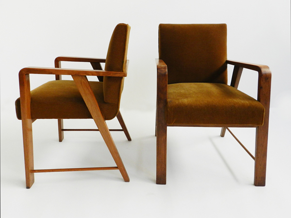 1940 Pair of armchairs