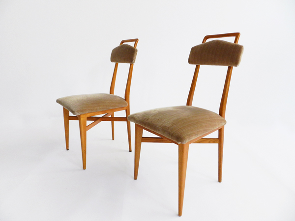 6 Elegant Italian chairs
