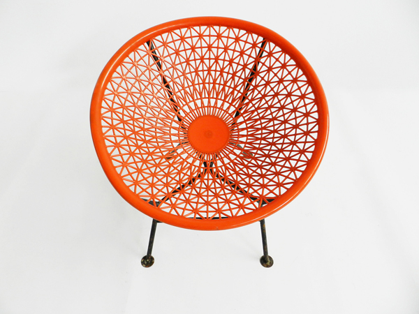 4 Pool or garden basket armchairs