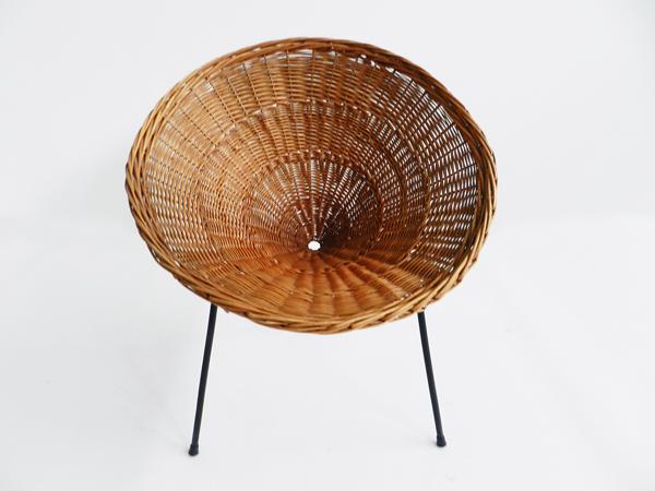 Round Basket armchair