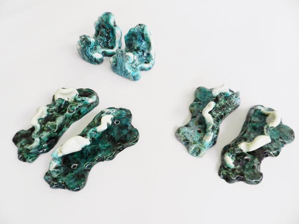 4 Ceramics handles