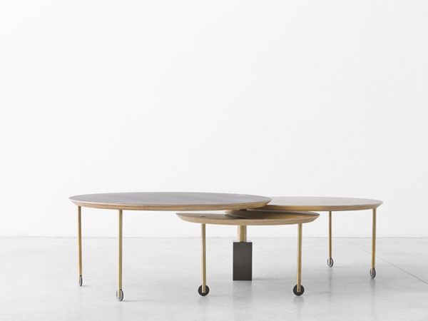 Limited edition sliding coffee table