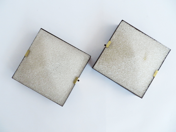 Decorative square sconces