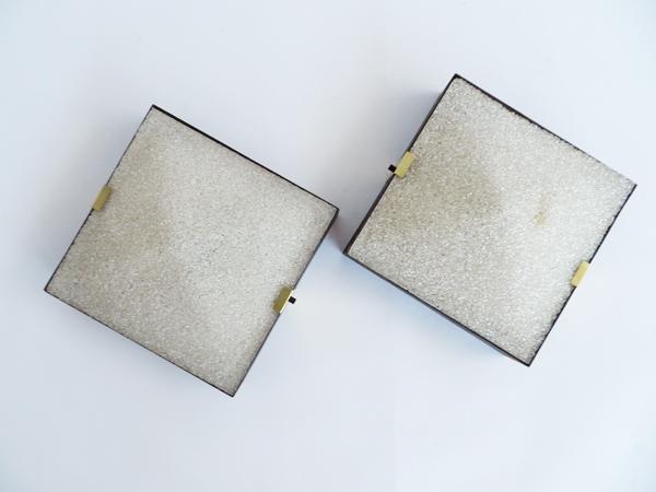 Decorative square sconces