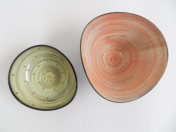 Pair of ceramic Bowls