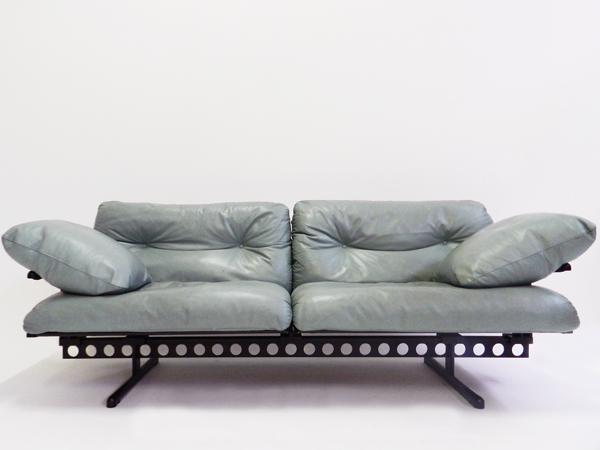 Leather sofa mod. Ouverture