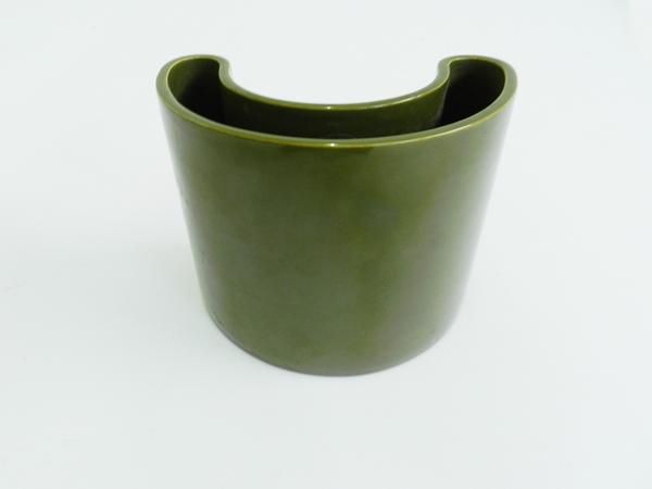 Half moon vase