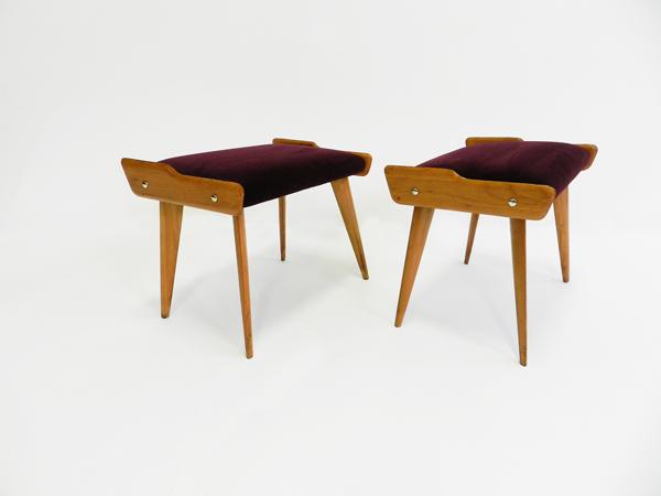 Super elegant pair of stools
