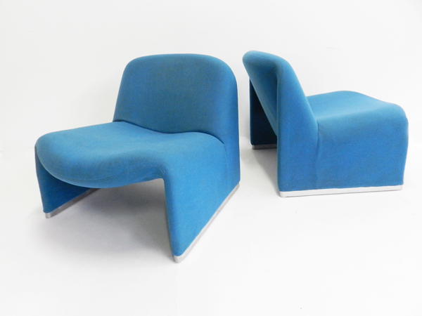 2 Lounge chairs mod. Alki