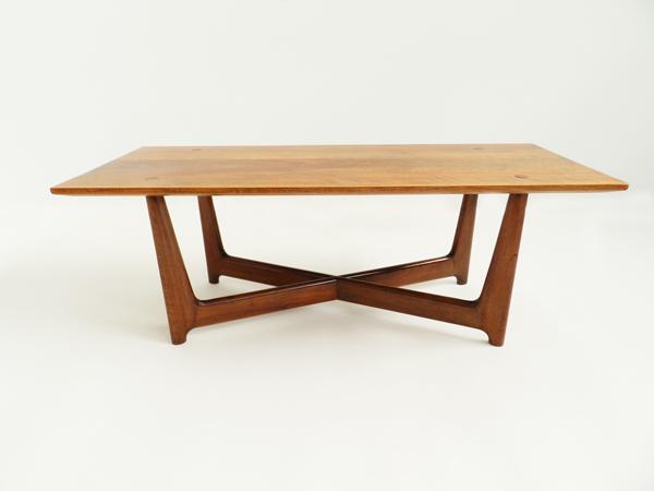2 danish side tables