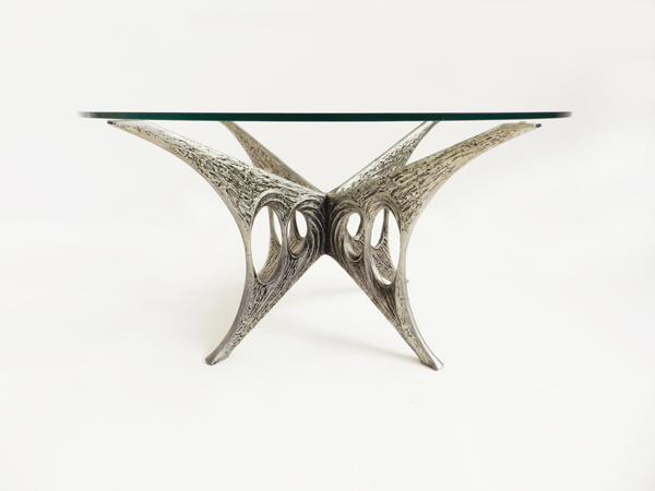 Brutalist sculptural cofee table