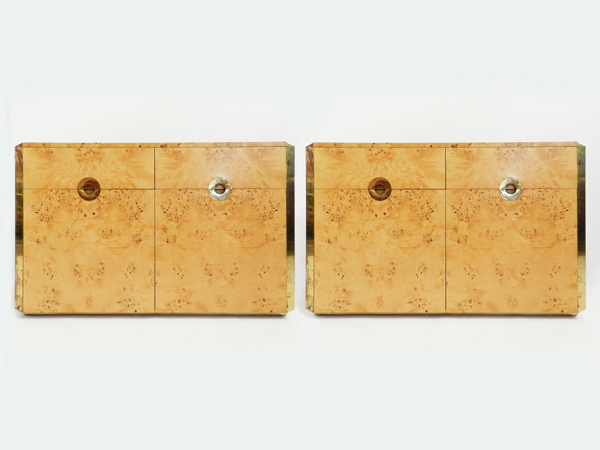 Pair of sideboard mod. Alveo
