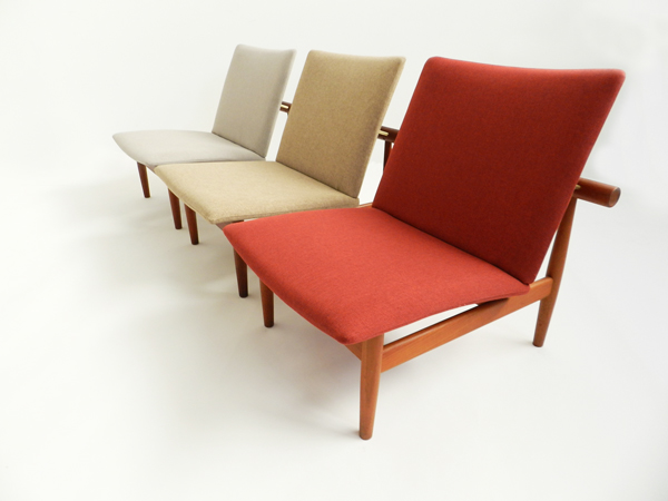 3 Lounge chairs mod. Japan 137