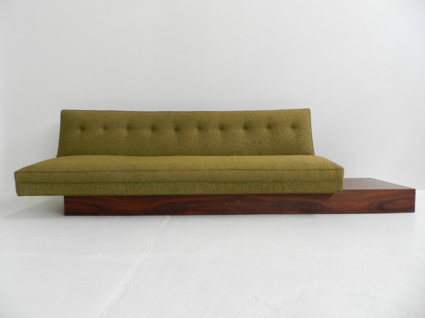Asymmetrical sofa