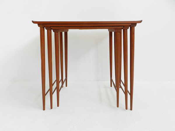 Teak Nesting Side Tables