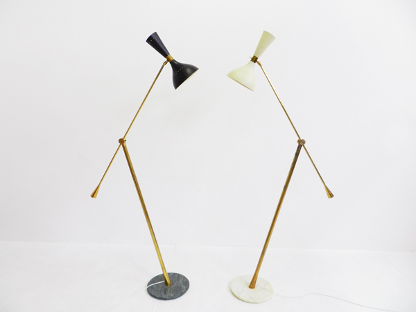 Adjustable floor Lamp White