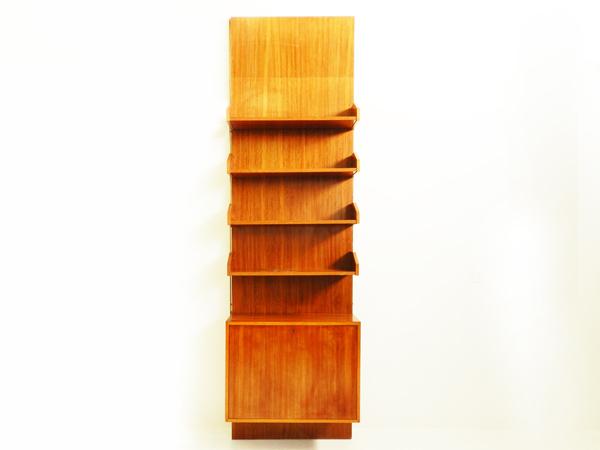 Italian bar bookshelf