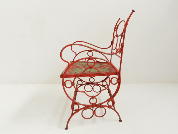 6 French garden chairs