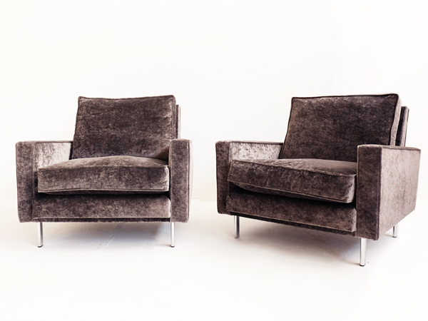 2 Clean Line Armchairs