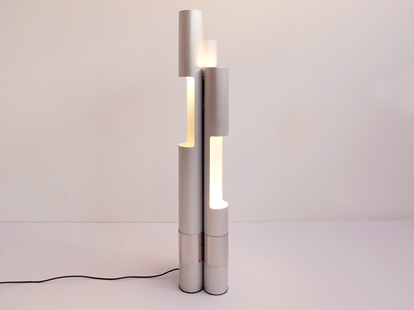 Tube floor lamp