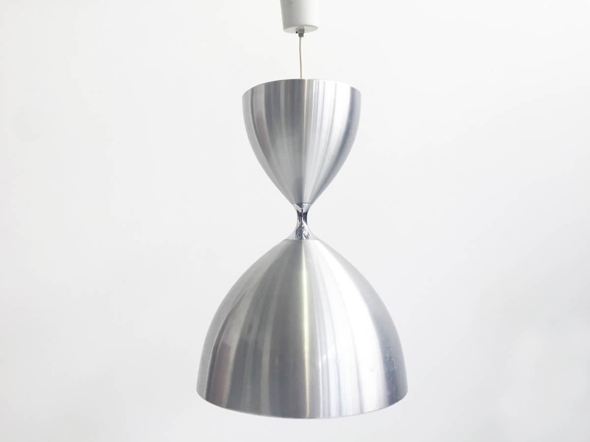 """Hourglass"" aluminum hanging lamp"