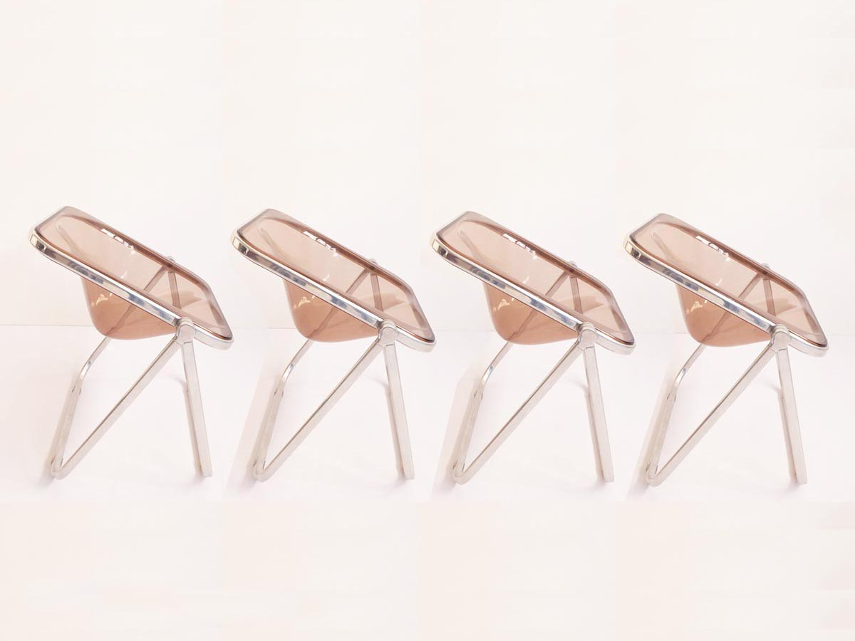4 Folding Chairs mod. Plona