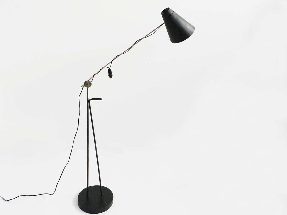 Swiss adjustable and technical floor lamp