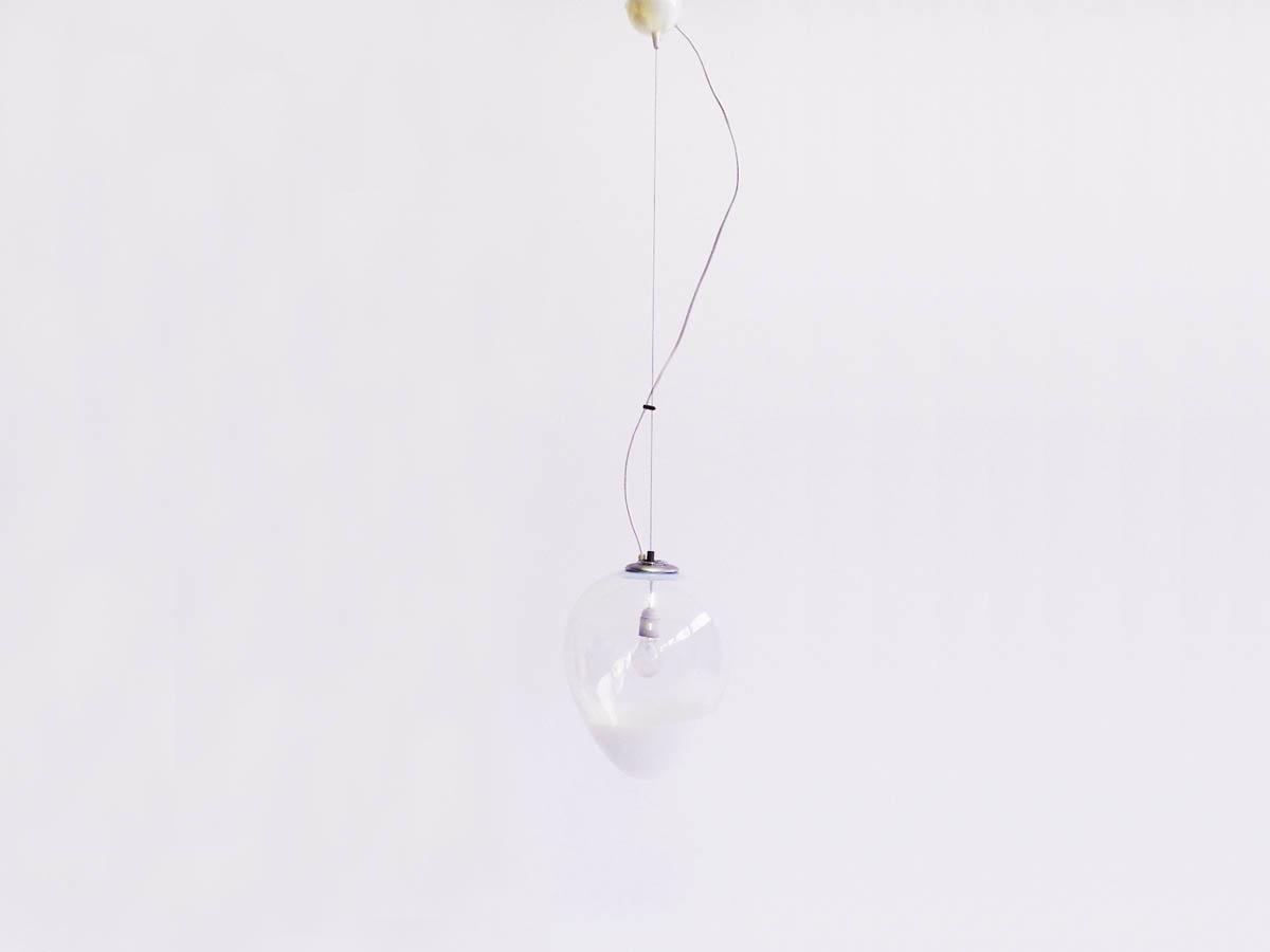 Drop glass hanging lamp