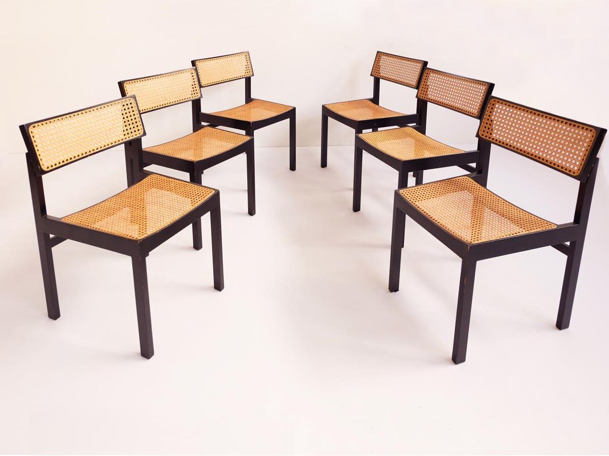 6 Chairs mod. Guhlstuhl 3100