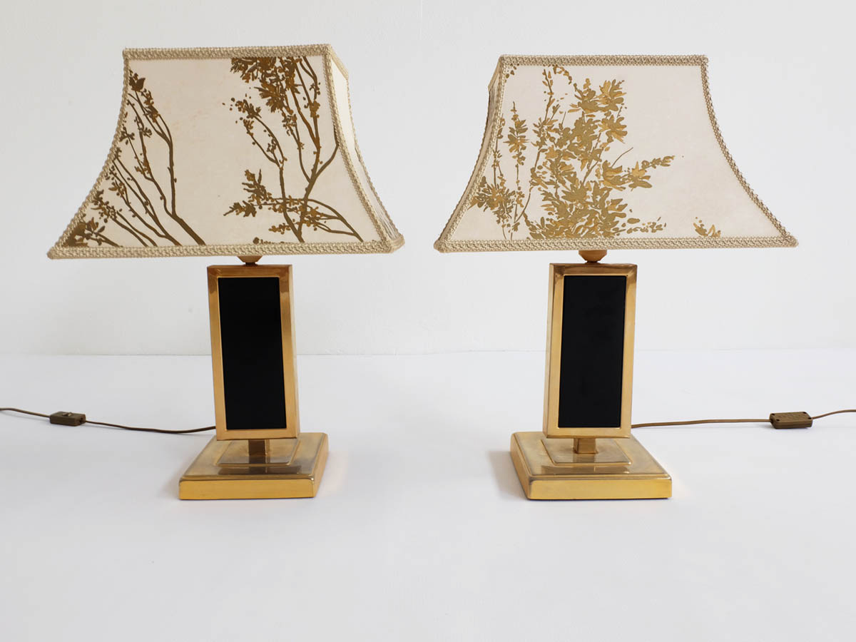 "Decorative ""Pagoda"" table lamps"