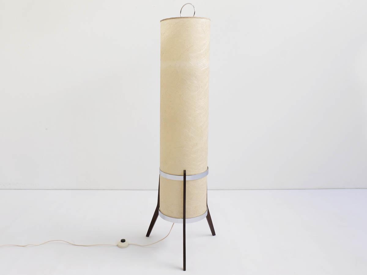 Japanese paper floor lamp