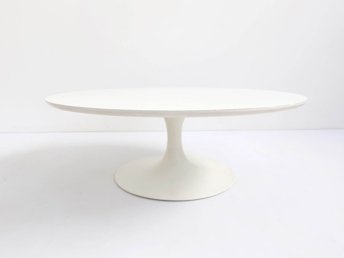 Round tulip coffee table