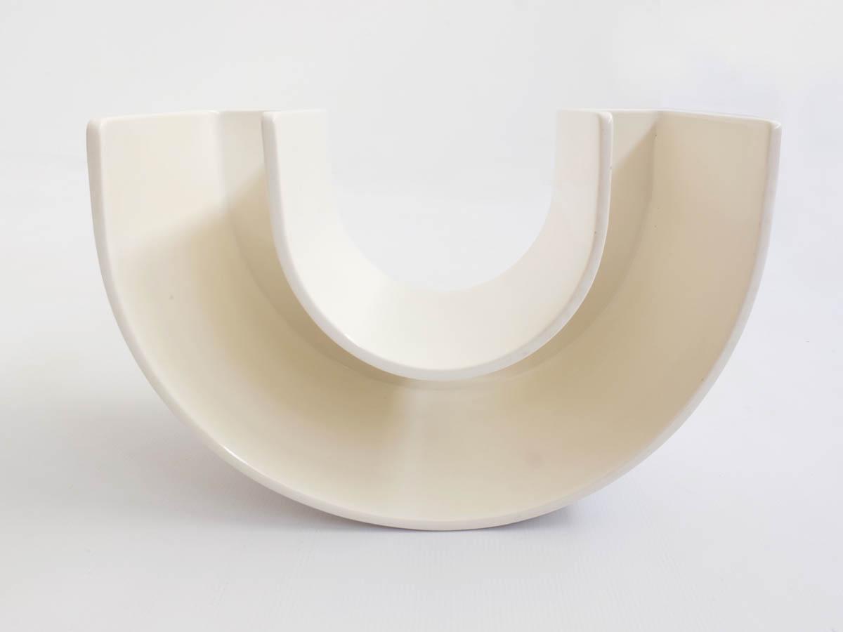 Half ring huge ceramic