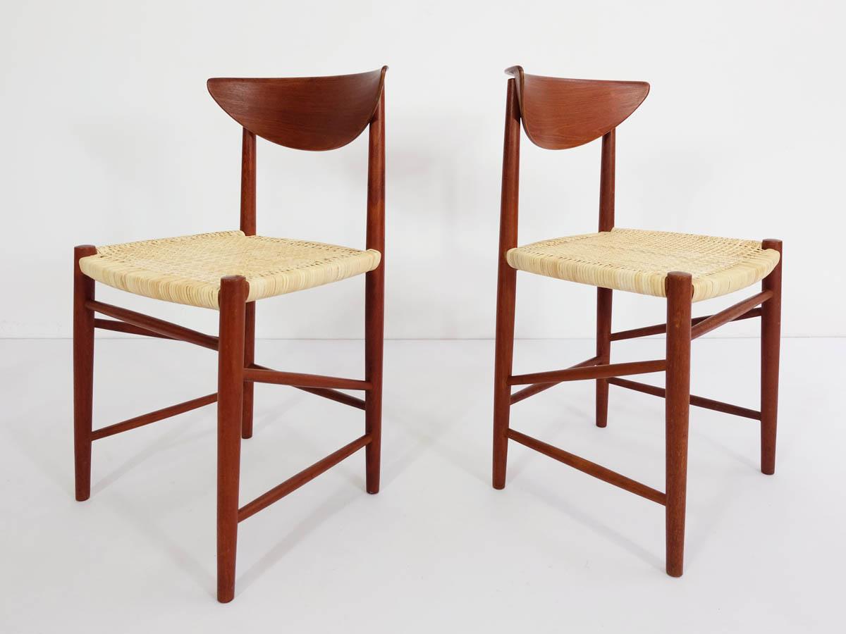 2 Danish Chairs mod. 316