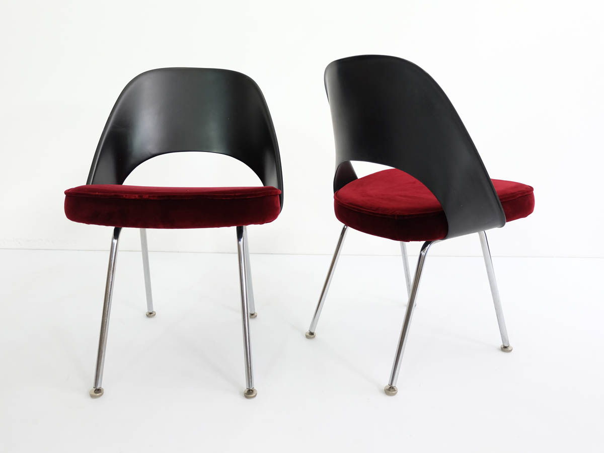 Plastic back side chairs