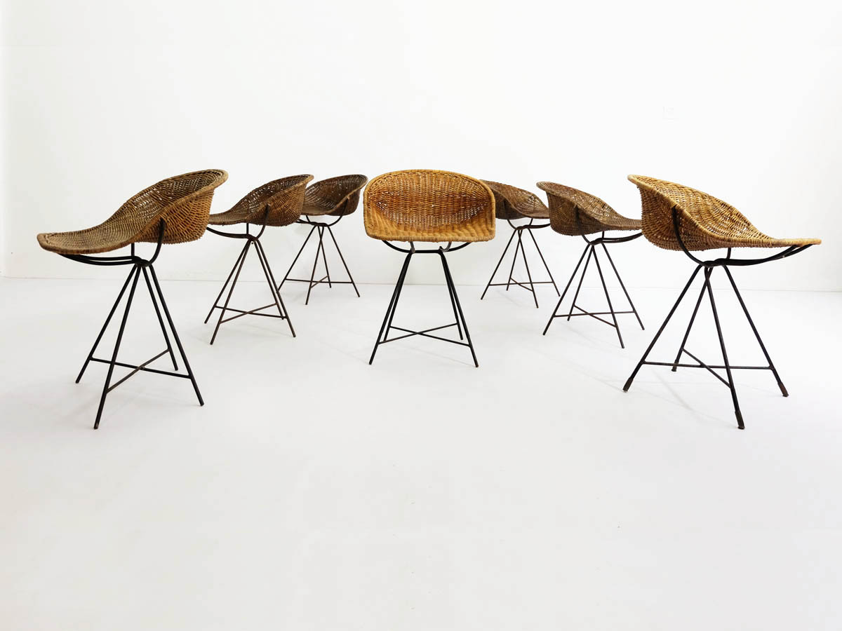 7 Architectural Rattan Chairs
