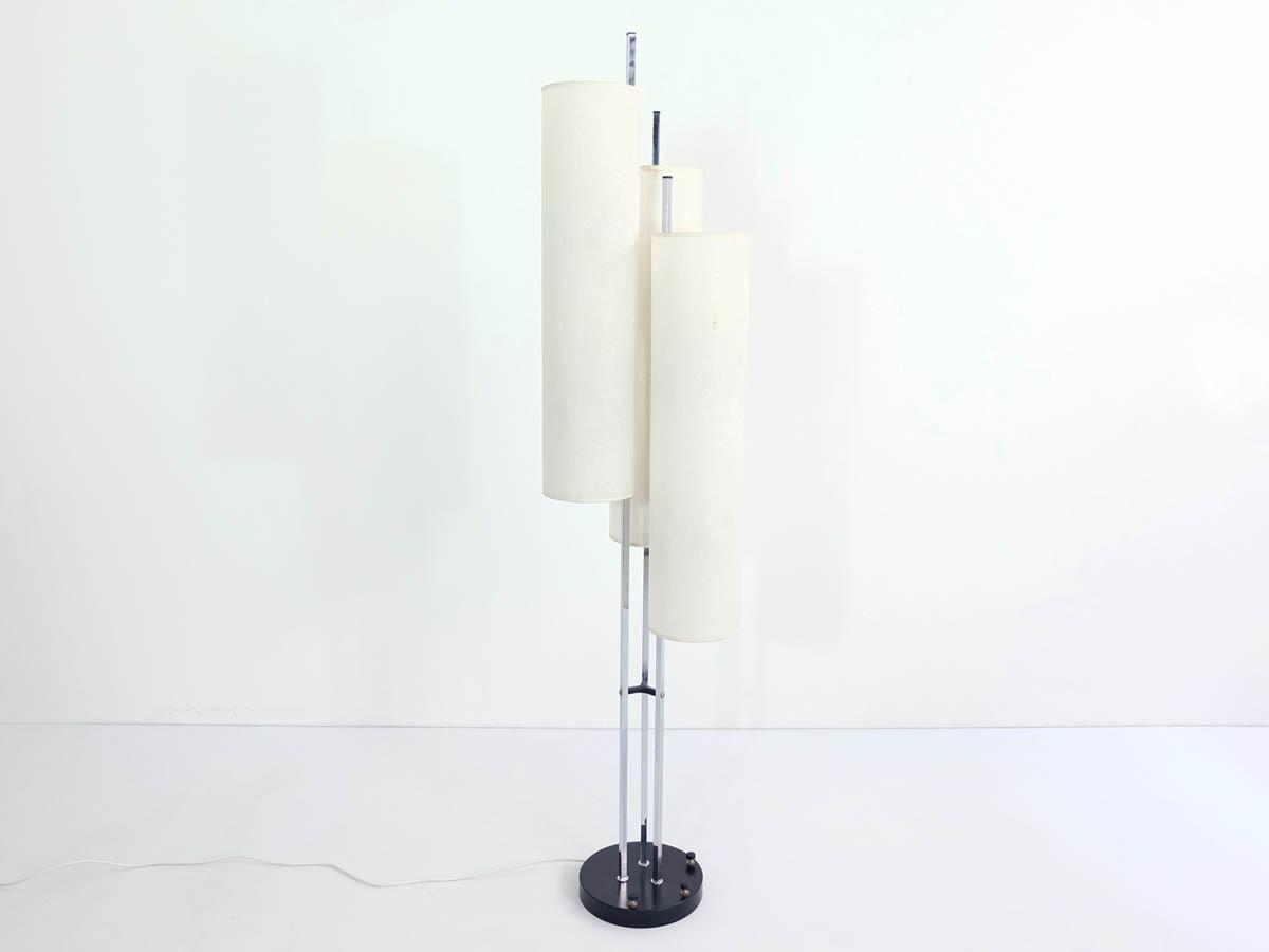 Swiss three tubes floor lamp