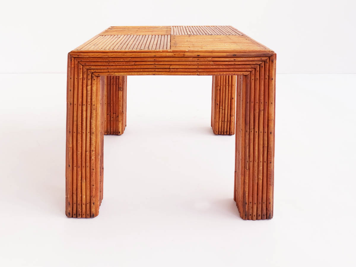 Bamboo squared side or coffee table