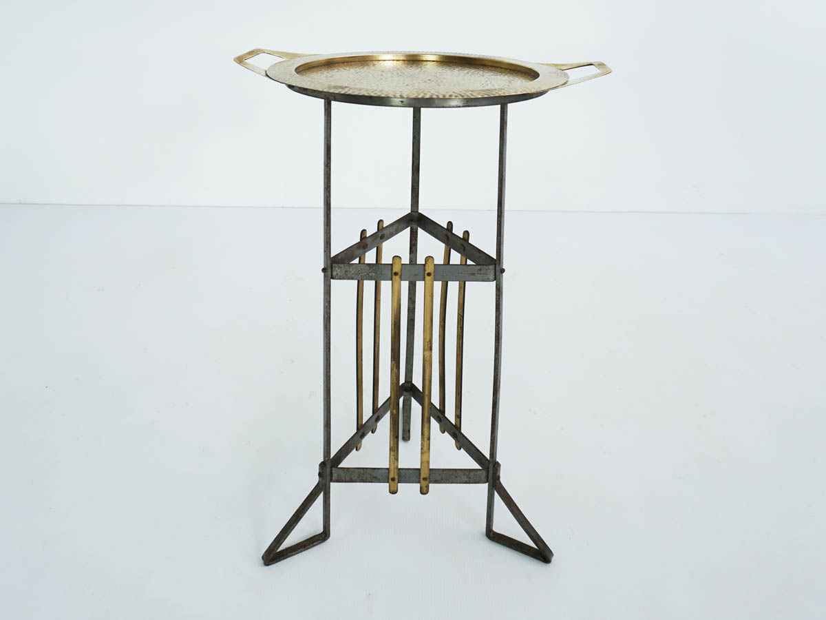 Art Deco side table or flower stand