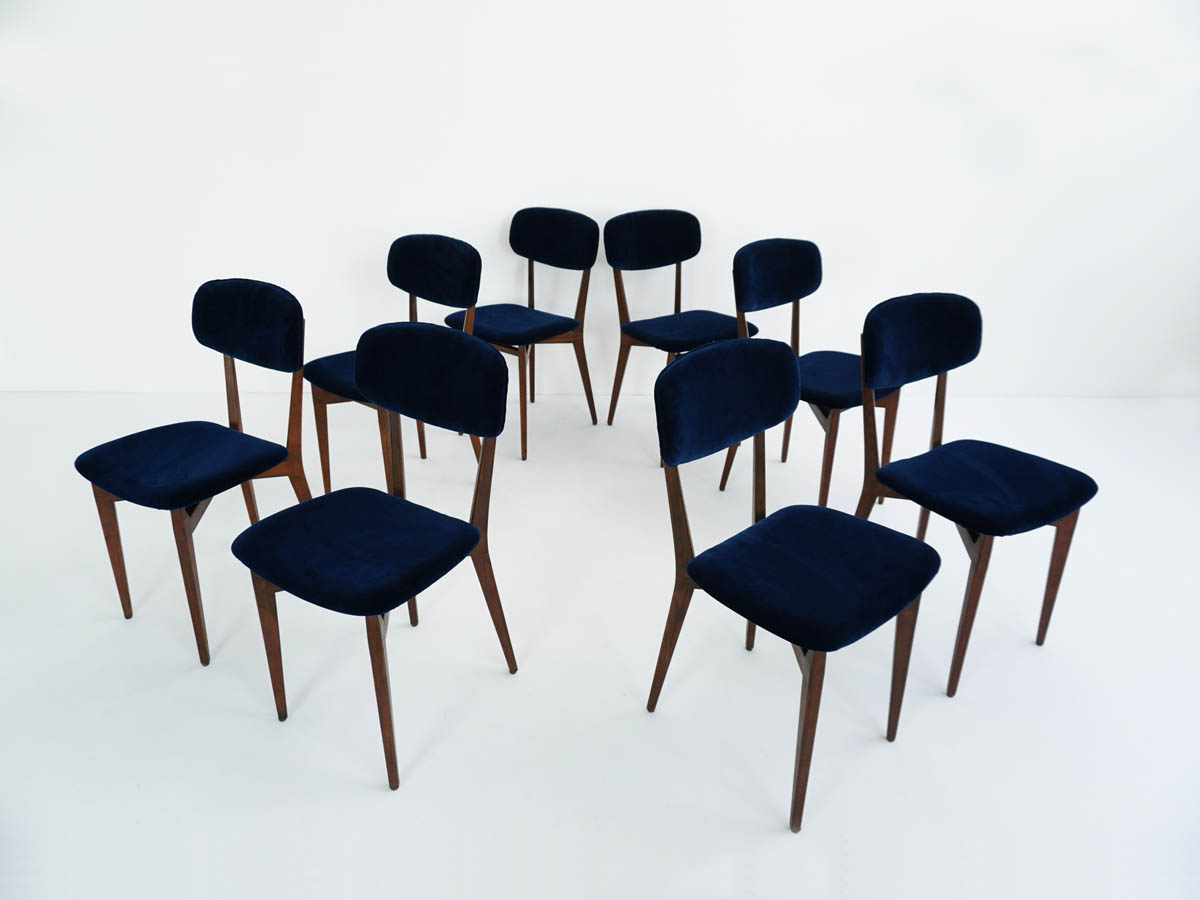 Set of 8 chairs mod. 691