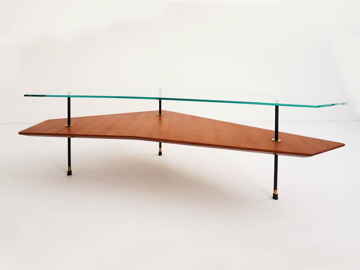 Table Basse Double Plateau, Diagonale