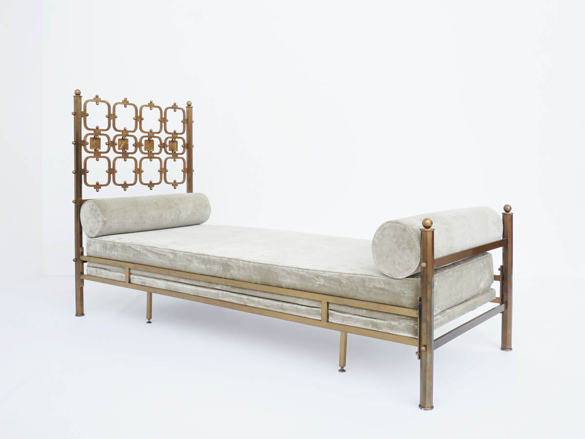 Artist Casting Brass Day Bed