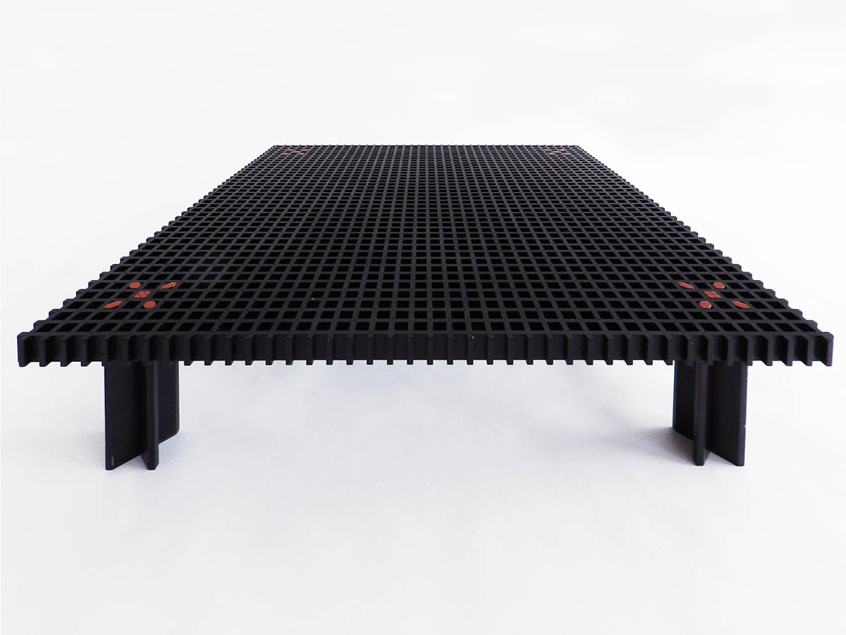 Rare black Kyoto coffee table