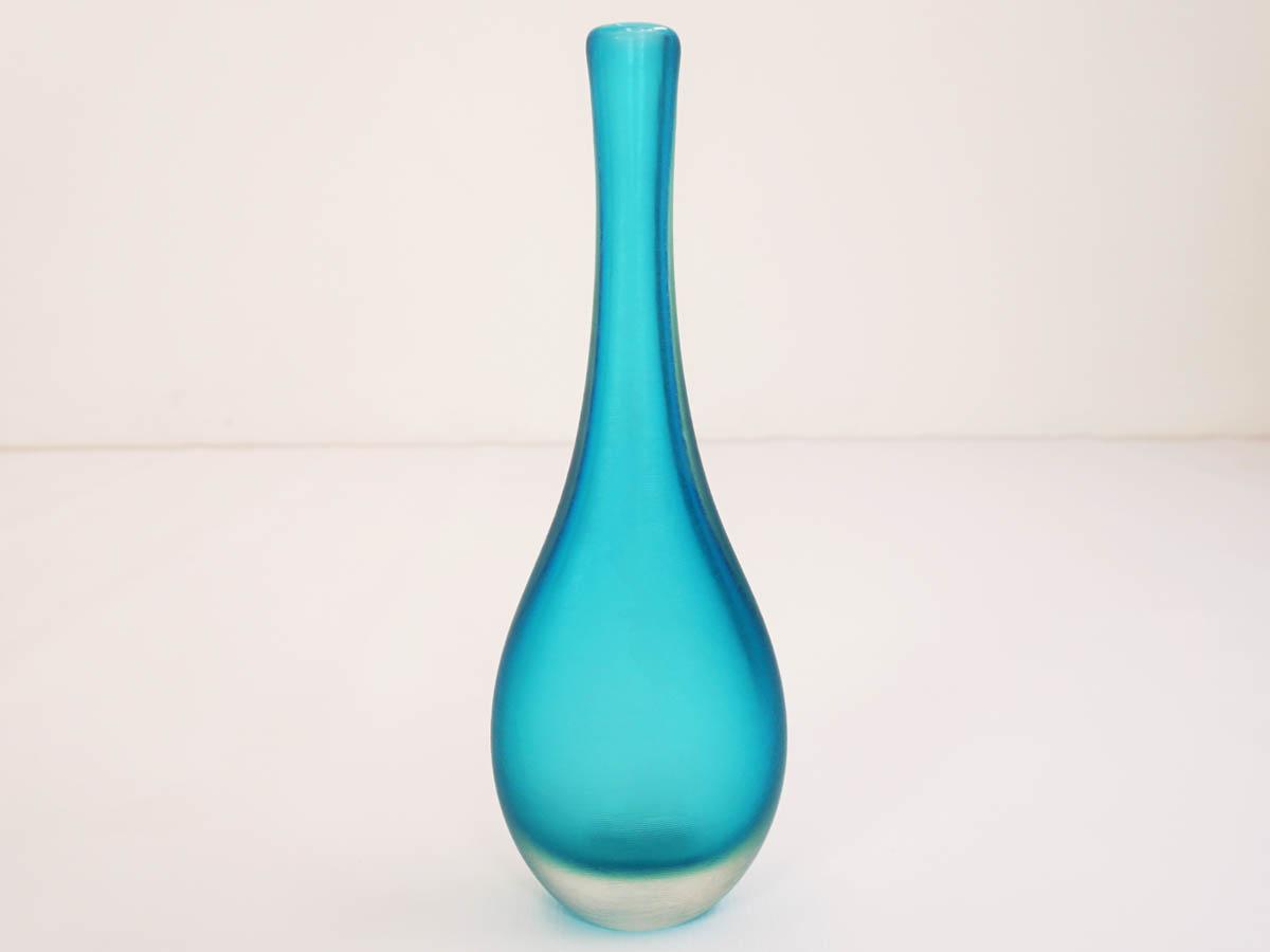 "Turquoise ""Inciso"" vase"